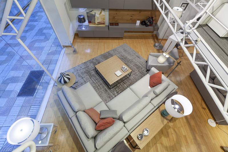 linea mueble exposición