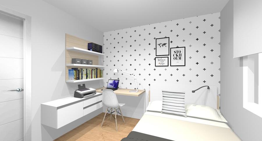 linea mueble proyecto vista 4 CRISTINA Juanjo Hab